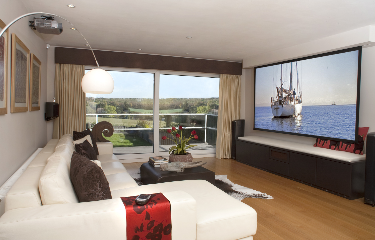 The Art Of Home Cinema Integration Inspiring Designs